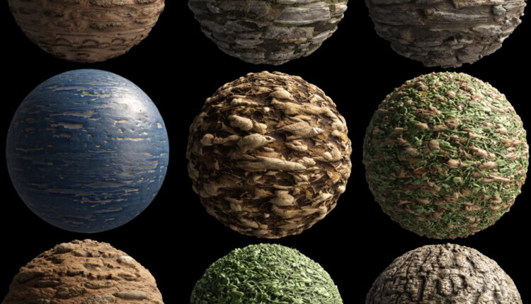 Material Pack – 01 from Julio Sillet 3D Art