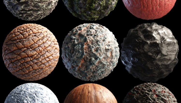 Material Pack – 04 from Julio Sillet 3D Art