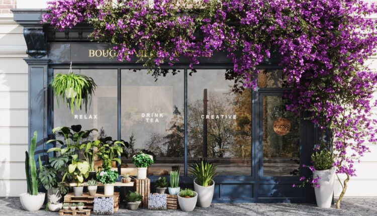 3D Exteriors FLORA STORE Model 3dsmax Free Download By Thang Quach (3)