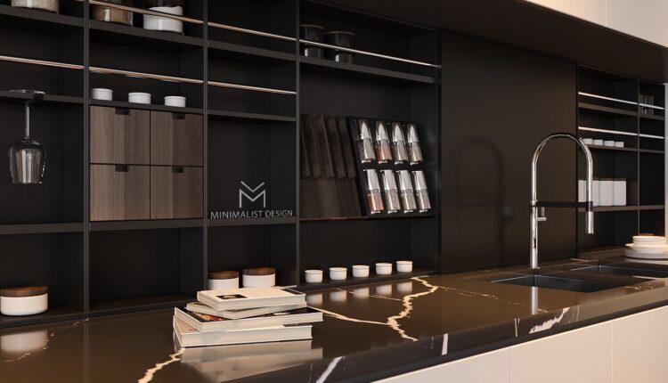 3D Interior Kitchen – Livingroom 137 Scene 3dsmax By Tran Nghia 3