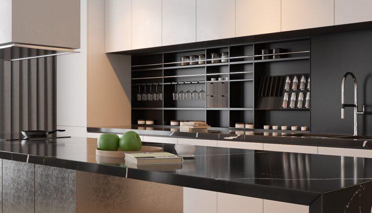 3D Interior Kitchen – Livingroom 137 Scene 3dsmax By Tran Nghia 4