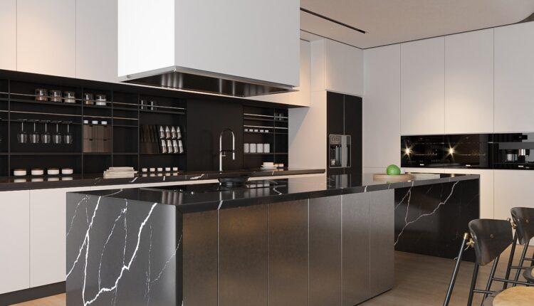 3D Interior Kitchen – Livingroom 137 Scene 3dsmax By Tran Nghia 6