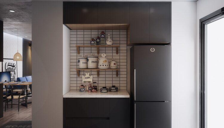 3D Interior Kitchen – Livingroom 145 Scene 3dsmax By LeVietDung 3
