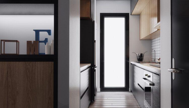 3D Interior Kitchen – Livingroom 145 Scene 3dsmax By LeVietDung 9