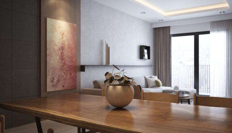 3D Interior Kitchen – Livingroom 150 Scene 3dsmax By NguyenTung 2