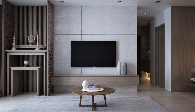 3D Interior Kitchen – Livingroom 150 Scene 3dsmax By NguyenTung 3