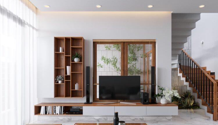 3D Interior Kitchen – Livingroom 153 Scene 3dsmax By Thang Nguyen v2