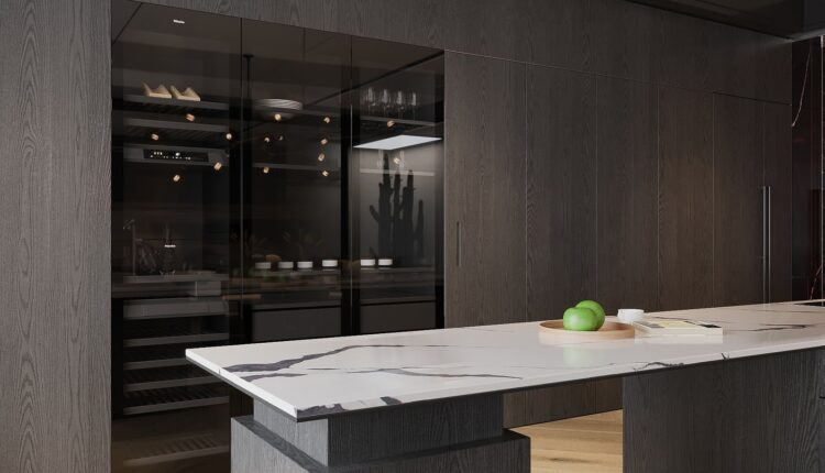 3D Interior Kitchen – Livingroom 154 Scene 3dsmax By Hoang Son 7