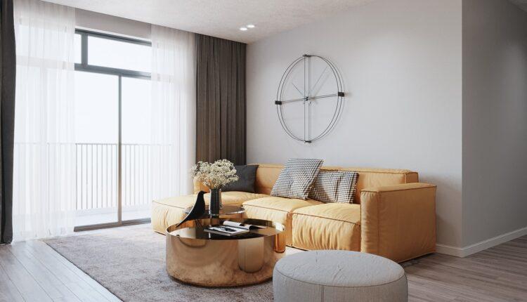 3D Interior Kitchen – Livingroom 155 Scene 3dsmax By Nguyen Ngoc Tung 1
