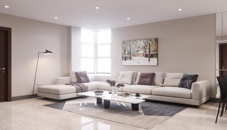 3D Interior Scene File 3dsmax Model Livingroom 431 By KienVu 1