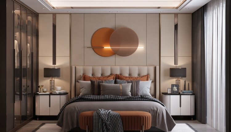 3D Interior Scenes File 3dsmax Model Bedroom 369 By ‎Huy Hieu Lee