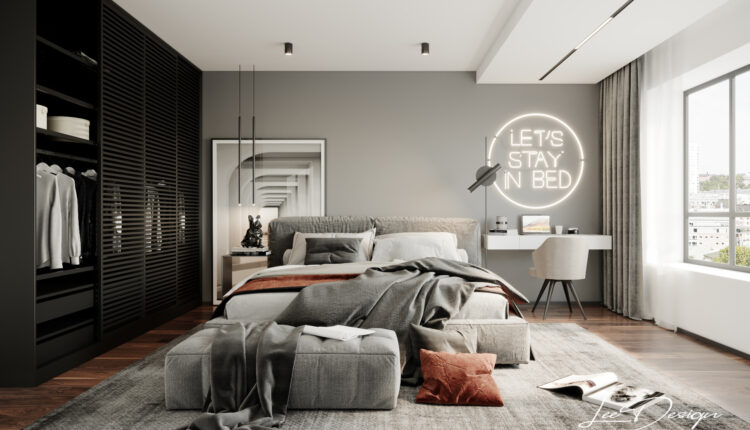 3D Interior Scenes File 3dsmax Model Bedroom 371 By Chung Lee