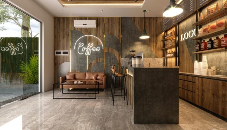 3D Model Interior Coffee 57 Scenes File 3dsmax By Phuc La 2