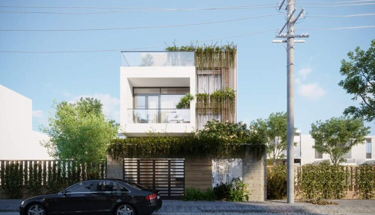 3D Exteriors House 5 Model 3dsmax Free Download By LeoNguyen