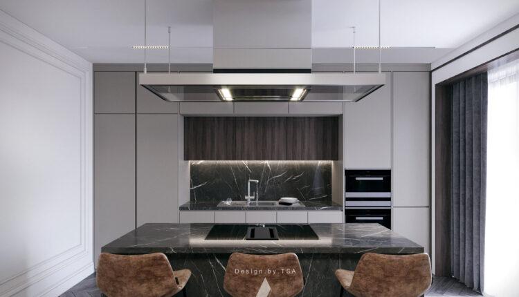 3D Interior Kitchen – Livingroom 166 Scene 3dsmax By Dung Sergio 11