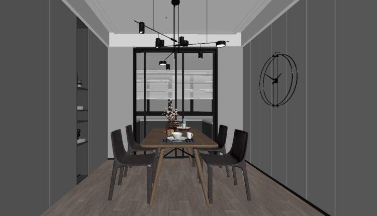 3D Interior Scene File 3dsmax Model Livingroom 446 By Doan Nguyen (3)