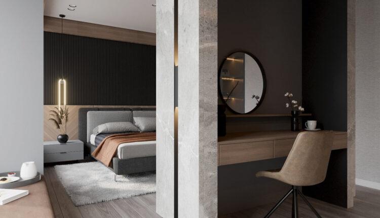 3D Interior Scenes File 3dsmax Model Bedroom 386 By Nguyen Ha 2