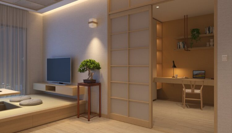 3D Japan Interior Style Apartment 161 Scene File 3dsmax By Duy Nguyen (1)