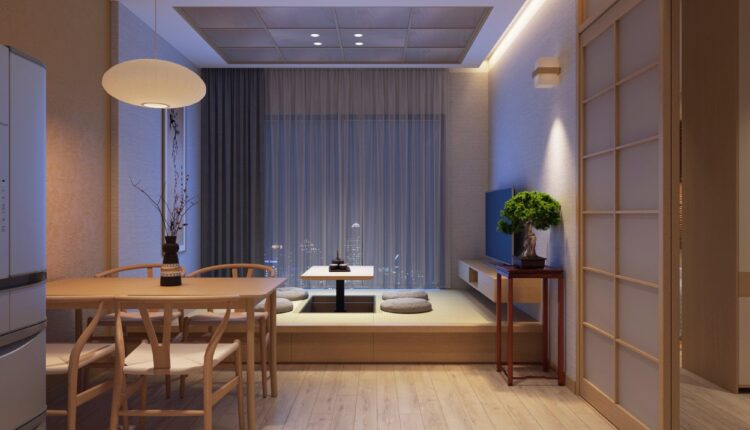 3D Japan Interior Style Apartment 161 Scene File 3dsmax By Duy Nguyen (2)