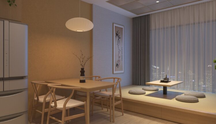 3D Japan Interior Style Apartment 161 Scene File 3dsmax By Duy Nguyen (9)