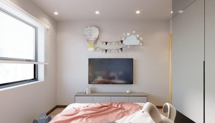 3D Model Interior Children Room 16 Free Download By NguyenDung 2