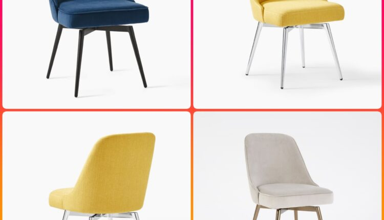 3D Model Mid Century Chair set Free Download