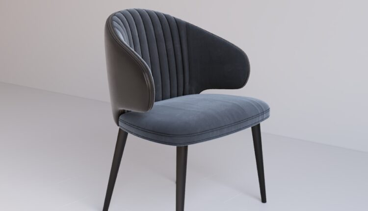 3D Model Povil Chair Free download_0