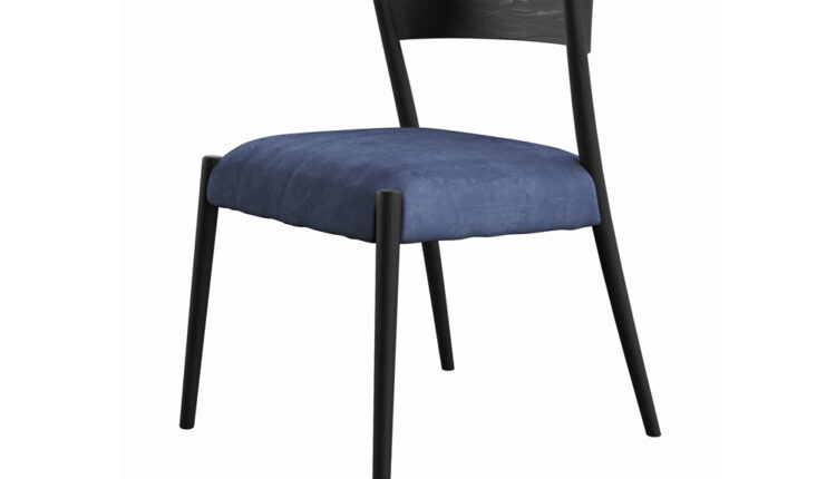 3D Model Ronda Blue Chair Free download
