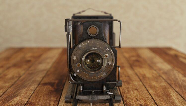 3D Model Vintage camera free download (2)