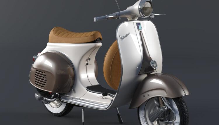 3d Model Vespa VNB 125 Sport Seat By Viet CG (2)