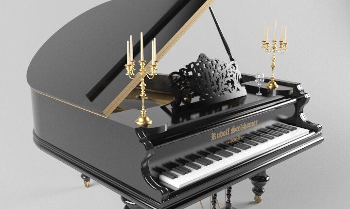 3d model Royal piano 21 free download (2)