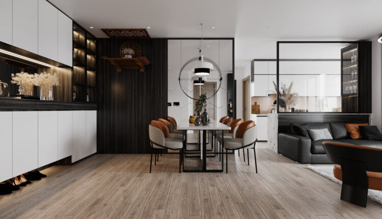 3D Interior Apartment 197 Scene File 3dsmax By Phan Thanh Duong 8
