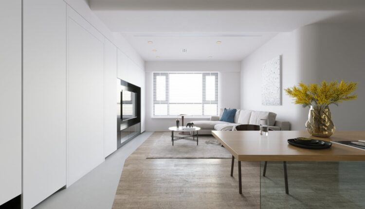 3D Interior Apartment 202 Scene File 3dsmax By Thanh Tuan 3