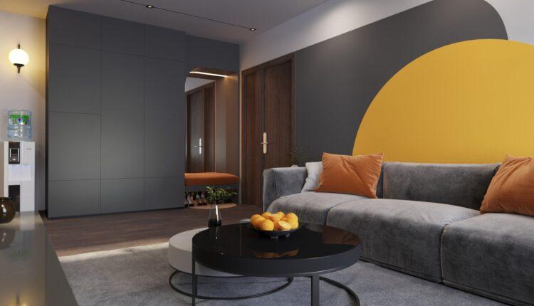 3D Interior Kitchen – Livingroom 191 Scene 3dsmax By Thanh Nguyen 2