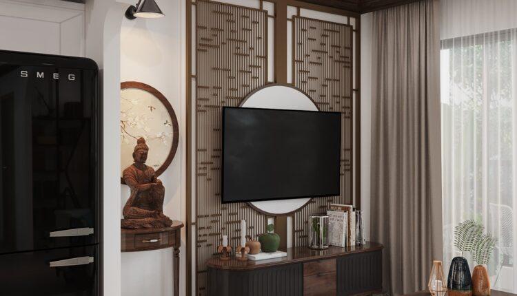 3D Interior Kitchen – Livingroom 194 Scene 3dsmax By Le Viet Dung 2