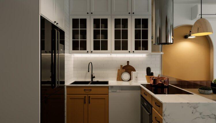 3D Interior Kitchen – Livingroom 195 Scene 3dsmax By Duc Nguyen 7
