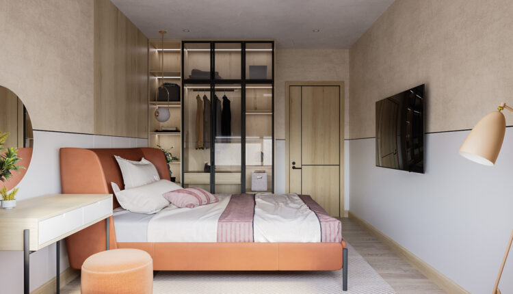 3D Interior Scenes File 3dsmax Model Bedroom 459 By Tuan An 3