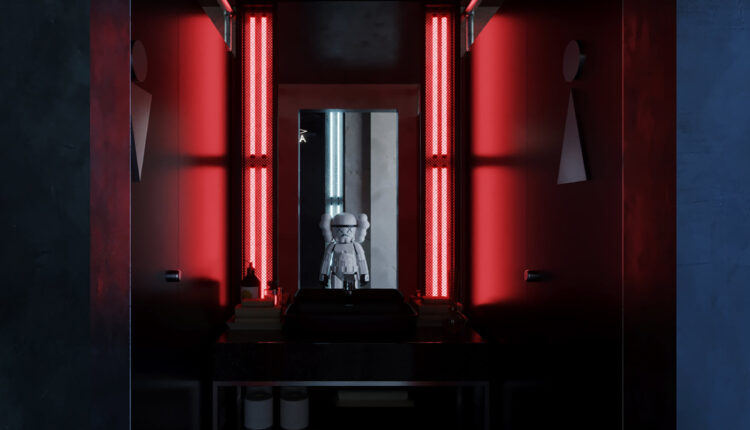 3D Model Interior Bar Restaurant Scene 243 By Duong Bui 5