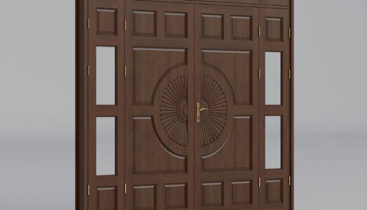 3d Door Model 55 Free Download