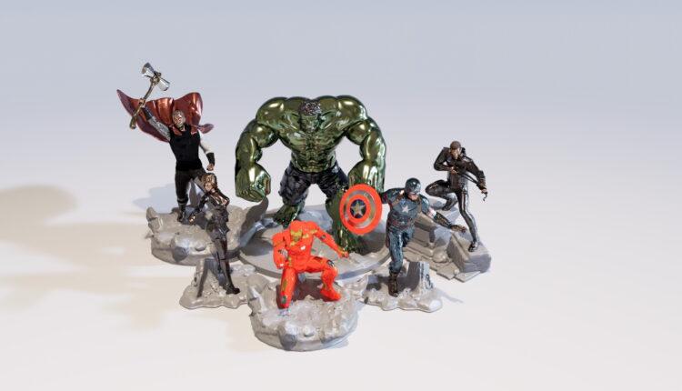 Avengers 3D Model (1)