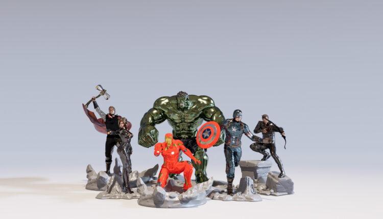 Avengers 3D Model (2)