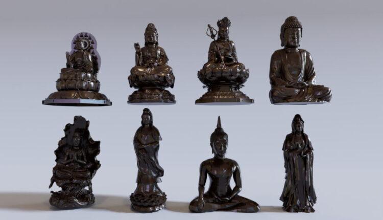 Free Buddha 3D Models By Ngo Minh Hang