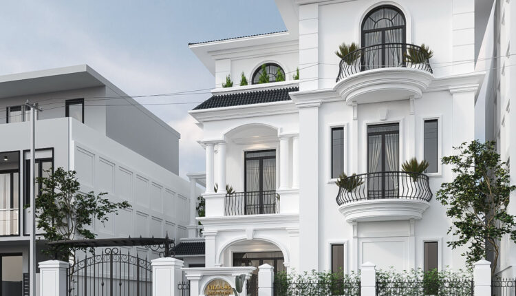 3D Exterior Villa Scene File 3dsmax By Thinh Cu Free Download 1