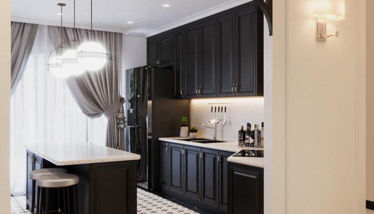 3D Interior Kitchen – Livingroom 202 Scene 3dsmax By Le Viet Dung 4