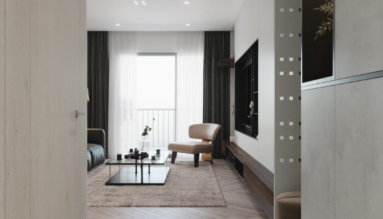3D Interior Kitchen – Livingroom 208 Scene 3dsmax By Nguyen Ngoc Tung 4