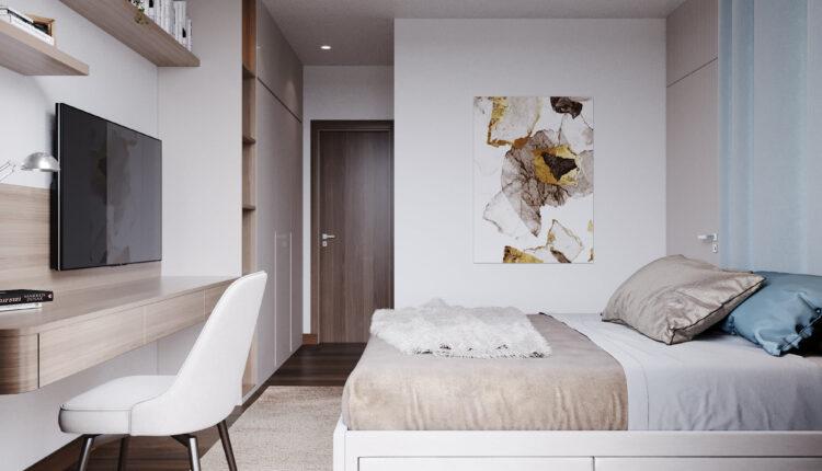 3D Interior Scenes File 3dsmax Model Bedroom 476 By Vu Quynh Trang 5