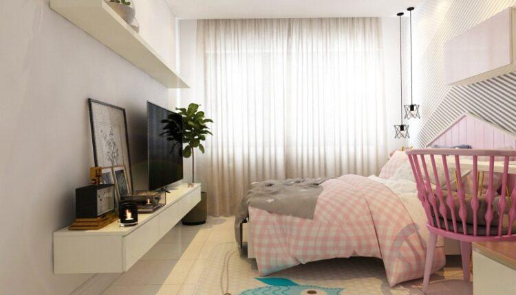 3D Interior Scenes File 3dsmax Model Bedroom Girls 479 – 2