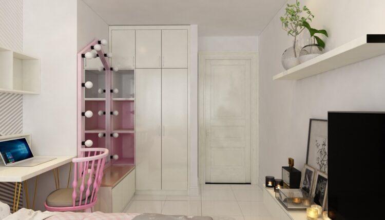 3D Interior Scenes File 3dsmax Model Bedroom Girls 479 -3