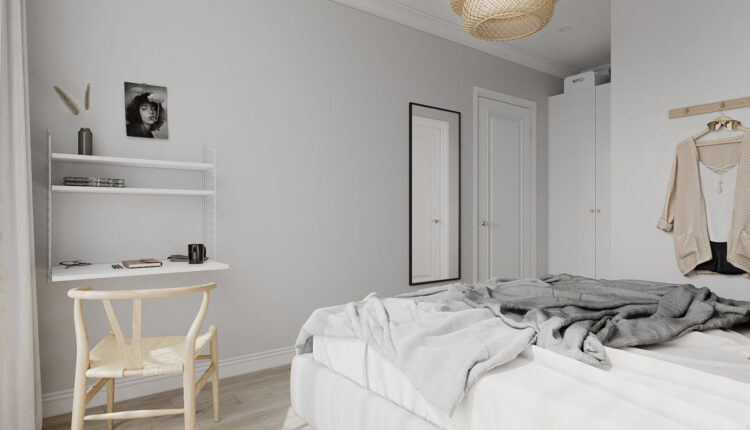 3D Interior Scenes File 3dsmax Model Scandinavian by Nguyen Xuan Tung 9