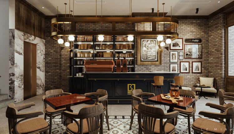 3D Model Interior Restaurant Chocolate 73 Scenes File 3dsmax By Le Minh 1